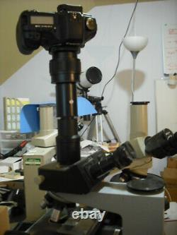 Leica microscope with HC DM LB Trinocular Port to Canon FULL FRAME Camera Adapter