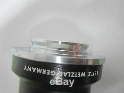 Leitz Germany Camera Port Adapter For Microscope Optics As Is Bin#58-33