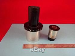 Leitz Wetzlar Germany Camera Adapter + Ocular Microscope Part Optics &r3-a-08