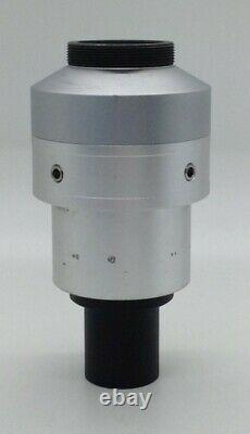 NIKON TV LENS C-0.45X MOUNT CAMERA ADAPTER from TE-2000E INVERTED MICROSCOPE