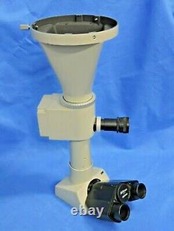 NIkon Trinocular Optiphot Microscope Head AFX-II Camera Shutter Adapter Eyepiece