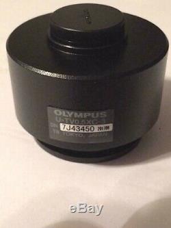 New Olympus C-mount Camera Adapter U-tv0.5xc-3 For Bx/ix Series Microscope
