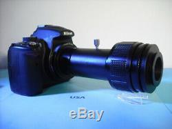 Nikon FULL FRAME Camera Adapter 2 Olympus Microscope Vari-focal BH AX BX CX MX