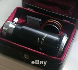 Nikon F microscope to camera adapter