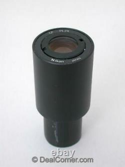 Nikon Microscope CF PL 2x Photo Relay Lens. Rare