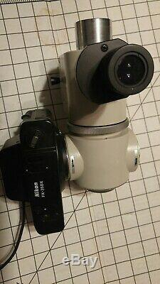 Nikon Microscope UFX-DX Camera Adapter No. 611821, Camera fx-35dx, MPC-1