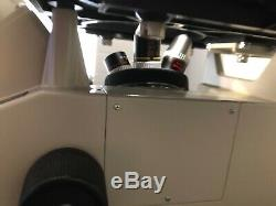 Nikon TMS Inverted Phase Contrast Microscope Ph 4X 10X New Cosmetic Binocular
