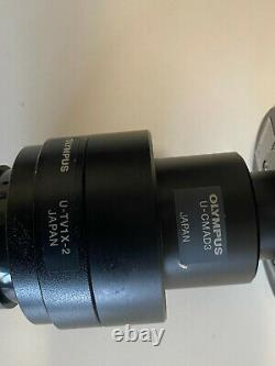 OLYMPUS DP70 Digital Camera Microscope Camera withE-CMAD3, U-TV1X-2, and Cable