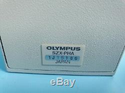OLYMPUS SZX-PHA Microscope Module U-CMAD3, U-TV1X-2 Adapter /W Camera