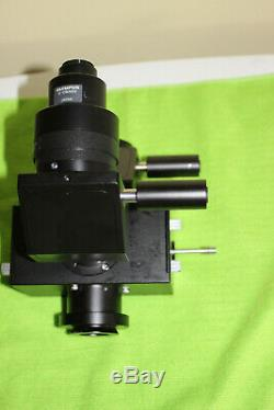 OLYMPUS U-DPT DUAL PORT BEAM CAMERA ADAPTER for Olympus BX Series MICROSCOPES