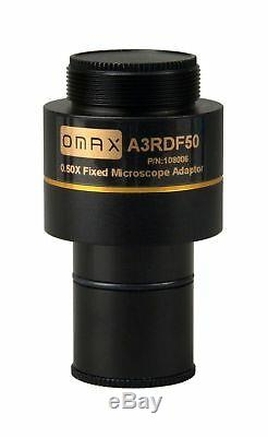 OMAX 9.0MP USB Digital Camera for Microscope with 0.01mm Calibration Slide W
