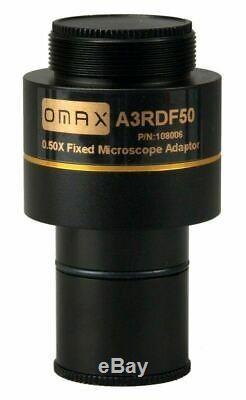 OMAX 9 MP Digital USB Microscope Camera + Software, Stage Micrometer Calibration