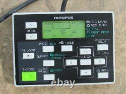 Olympus DP11-N Digital Microscope Video Camera With Hand Switch Control Tested