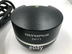 Olympus DP71 Digital Microscope Camera with Cable