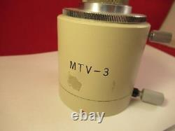 Olympus Japan Mtv-3 Camera Adapter Microscope Part As Pictured #ft-4-121