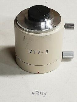 Olympus MTV-3 C-Mount Camera Adapter for BH Series Microscope-WithLens
