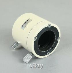 Olympus MTV-3 C-Mount Camera Photo Adapter with Lens for Trinocular Head