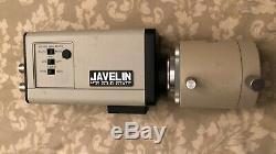 Olympus MTV-3 Microscope Camera Adapter C-Mount + Javelin Chromachip II CCD