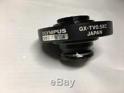 Olympus Microscope C-mount Camera Adapter GX-TV0.5XC