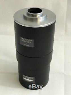 Olympus Microscope Camera Adapter U-CMAD-2 and U-PMTV Combo