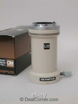 Olympus Microscope OM Camera Photo Tube Adapter L for BH2 BHS BH BX CK IMT Boxed