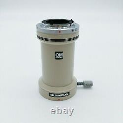 Olympus Microscope OM System Mount Camera Adapter