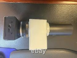 Olympus Microscope PM-PB20 Exposure body/PM-C35DX/USPT adapter, PM-DA35DX camera