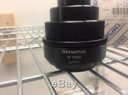 Olympus Microscope U-CMT, IX-TVAD Camera Adapter Set with box