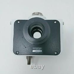 Olympus Microscope U-DPCAD Combined Adapter C-Mount Dual Camera Port