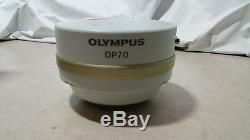 Olympus Optical DP70 12.5 megapixel CCD Microscope Camera Excellent condition