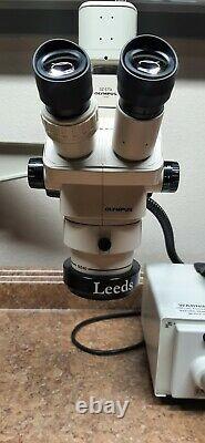 Olympus SZ4045 Trinocular Camera and Adaptor Leeds