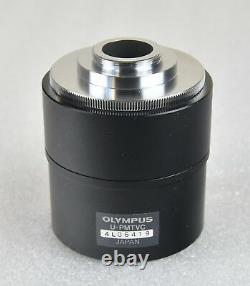 Olympus U-PMTVC Microscope Video Camera C Mount C-Mount Adapter