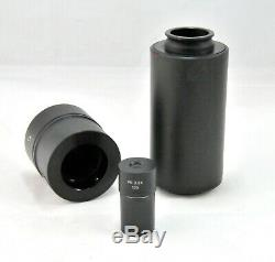 Olympus U-PMTVC and U-SPT Microscope Camera Adapter with 3.3x Lens