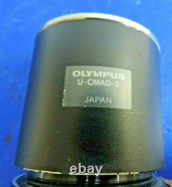 Olympus U-TV0.5X Microscope 0.5X TV Lens with U-CMAD-2 C-Mount Camera Adapter