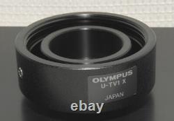 Olympus U-smad+tv1x Sony Video Camera Adapter Olympus Bx & IX Series Microscopes
