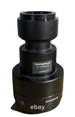 Olympus microscope U-CAMD3 &U-TVIX-2, C MOUNT Adapter
