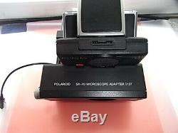 Polaroid Land Camera Time-Zerro SX-70 AutoFocus Microscope Adapter 0137