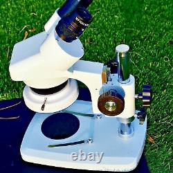 Professional Quality Binocular Microscope with camera and computer imaging