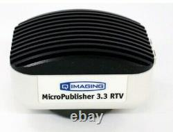 QIMAGING MICROPUBLISHER 5MP RTV 10 Bit Color Microscope Camera, With Adapter