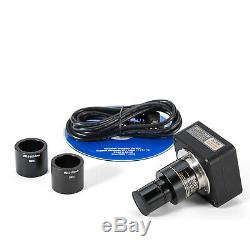 SWIFTCAM HD 5MP USB Bino Trinocular Microscope Digital Camera With Calibration Kit