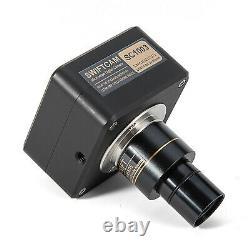 SWIFT 10MP USB 3.0 Microscope Digital Camera +Calibration Kit Measurement