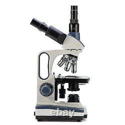 SWIFT 2500X Trinocular Compound Microscopes+Digital Camera +Smartphone Adapter