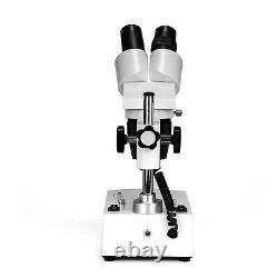 SWIFT 360° 20X-40X-80X LED Stereo Microscope+Eyepiece adapter +Digital Camera