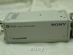 Sony DXC-390P 3CCD Color Video Camera withT45C 0.45X Microscope Camera Adapter