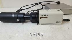 Sony DXC-960MD 3CCD Color Video Microscope Camera with CMA-D2 Adapter