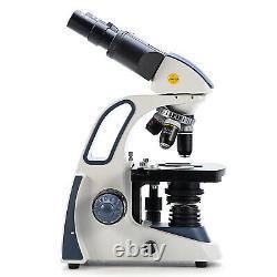 Swift 40X-2500X Compound Binocular Microscope+1.3MP Digital Camera+Phone Adapter