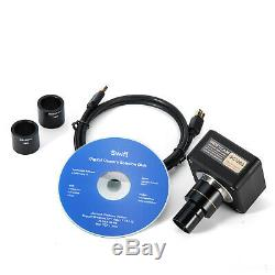 Swiftcam 10MP Digital Camera for Microscope USB3.0 Live Picture Calibration Kit
