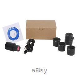 USB3.0 Microscope Telescope Eyepiece Camera 30mm 30.5mm 31.75mm Ring Adapters