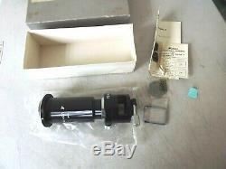 Vtg Nikon Microscope Adapter Kit Model 2 + Focusing Screen C Model F