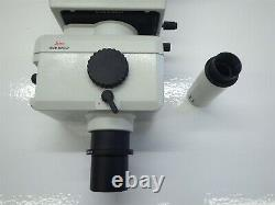 Wild Heerbrugg 0.8x Polaroid Microscope Camera with Wild MPS52 Viewfinder